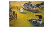 Loon on the Umpqua - M.W. Lindenmeyer