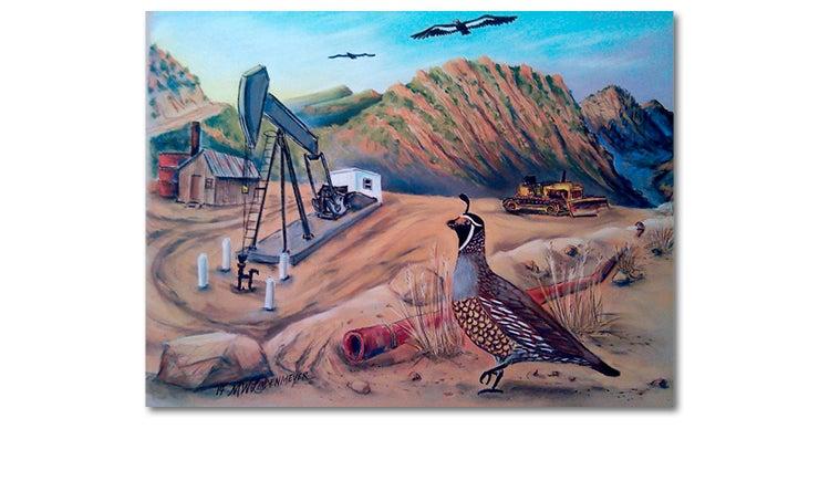Condor, Quail, Tar Creek - M.W. Lindenmeyer