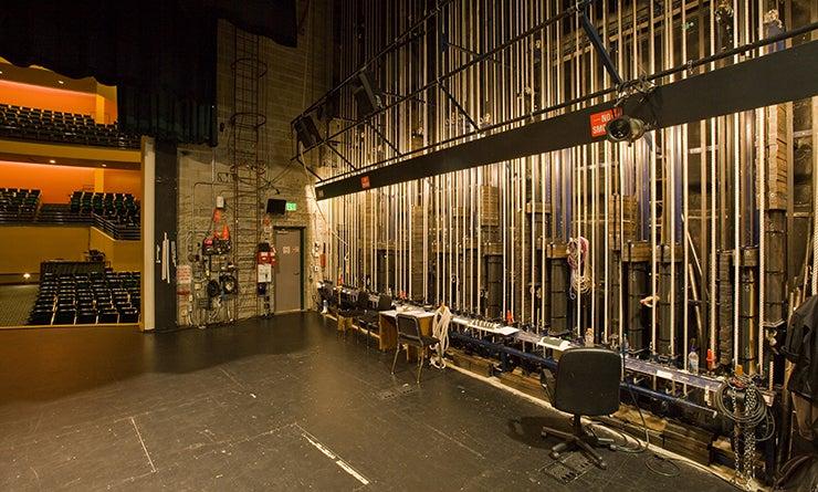 Washington Center Backstage Right