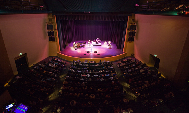 Washington Center Stage during performance