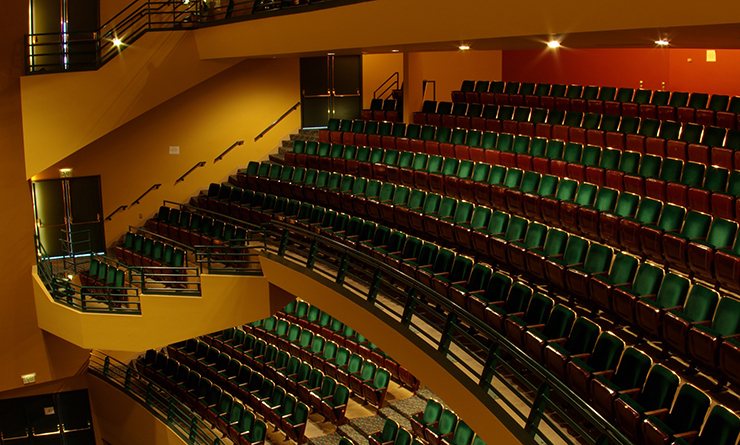 Washington Center Mezzanine Seating