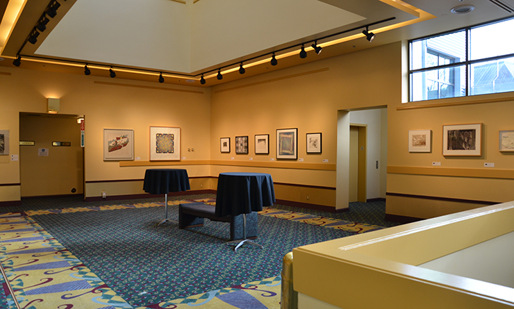 Washington Center Mezzanine Lobby and Gallery