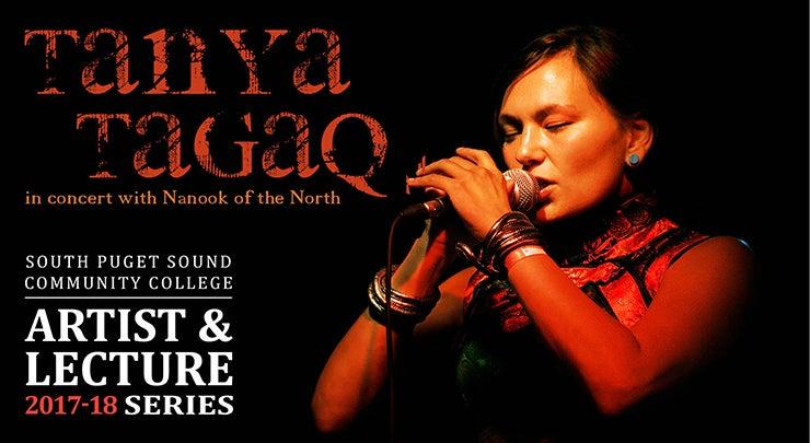 Spscc February 2019 Leture Calendar SPSCC Artist & Lecture Series: Tanya Tagaq in Concert with Nanook